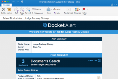 Docket Navigator – Litigation Research