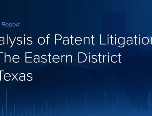Analysis of Patent Litigation in The Eastern District of Texas
